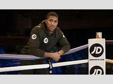 Anthony Joshua signs partnership with JD Sports boxing