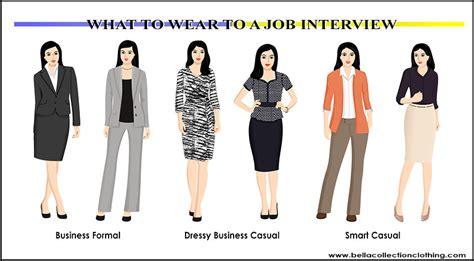 wear   job interview bella collection