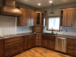 Kitchen & Bar: Transitional Kitchen With Hickory Kitchen
