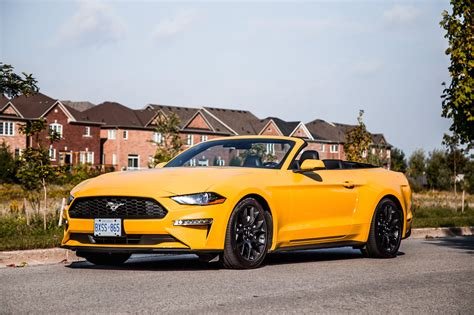 ford mustang ecoboost 2018 review 2018 ford mustang ecoboost convertible car