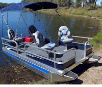 Electric Pontoon Boat Canada by Mini Pontoon Boats