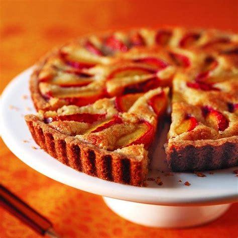 almond and plum tart chatelaine