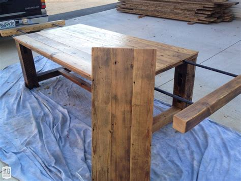 Rustic Extension Table With Leaf  Rustic Grain Dining