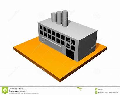 Factory Building Industrial Icon Cool