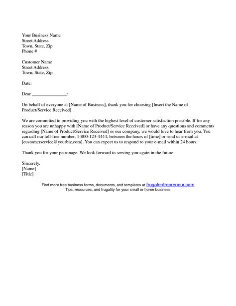 thank you letter to clients for their business business thank you letter template customer tomyumtumweb 25120