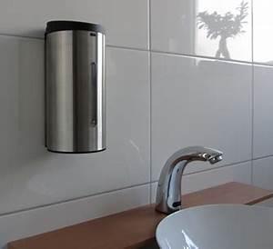 Seifenspender Wand Sensor : sensor seifenspender edelstahl 304 f r wandbefestigung sensor wasserhahn ~ Watch28wear.com Haus und Dekorationen