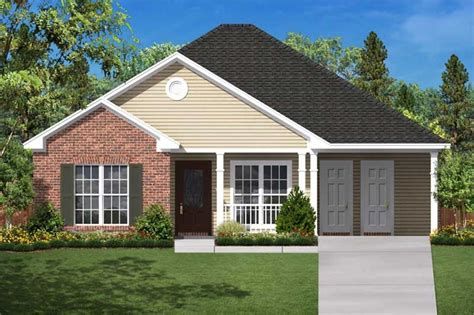 narrow lot house plans with rear garage small traditional home floor plan three bedrooms plan
