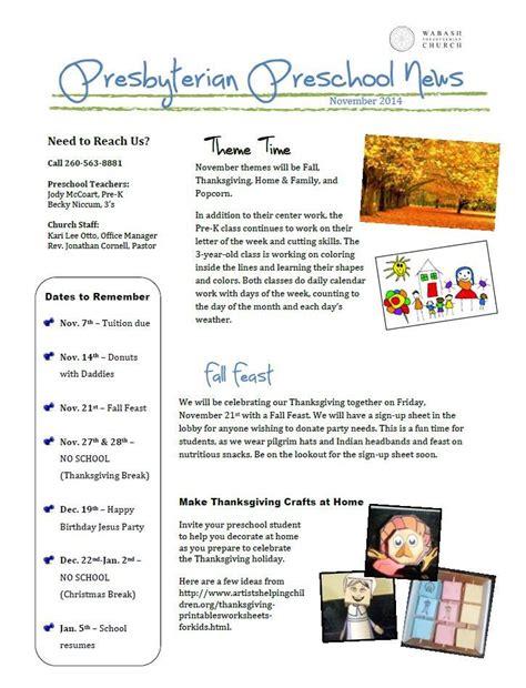preschool newsletter november 2014 171 wabash presbyterian 589 | Preschool Newsletter 11.2014
