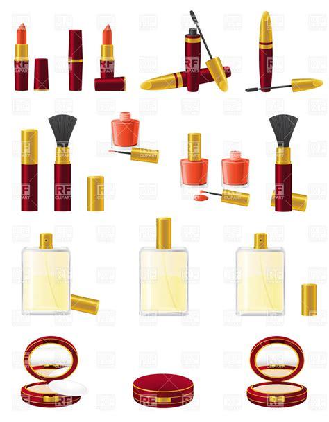 big set  cosmetics vector image  beauty fashion