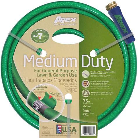 home depot garden hose neverkink pro 3 4 in dia x 75 ft duty water