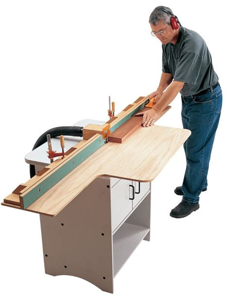 router table jointer fence popular woodworking magazine