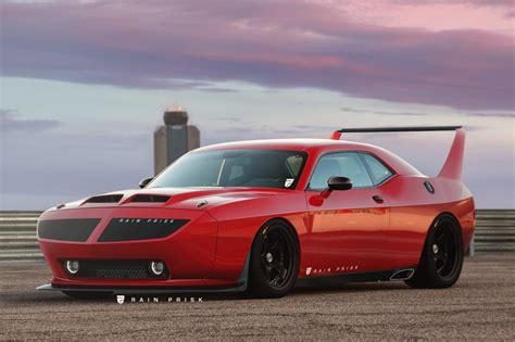 Ever Wondered What A Modern Day Dodge Challenger Daytona