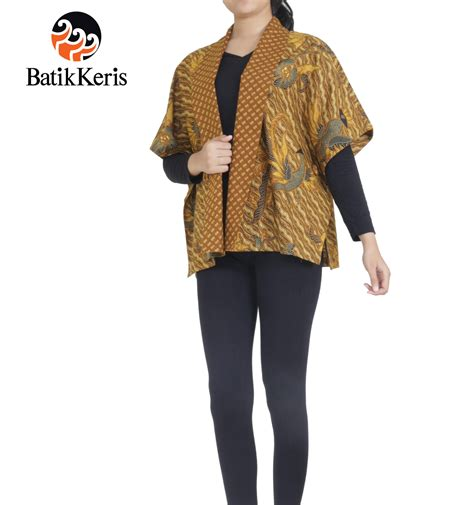 batik keris 187 outer batik motif bayu ponco kombinasi