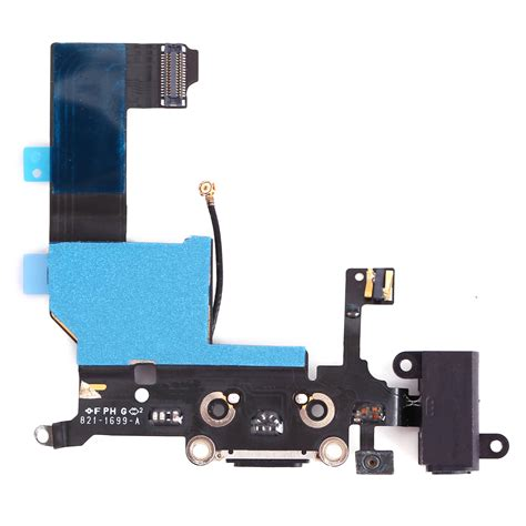 replace iphone 5 charging port replacement charging port dock connector flex cable part