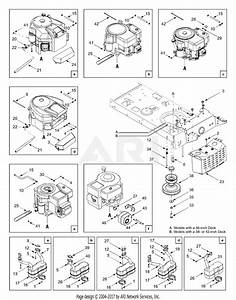 Mtd 13ah660f352  2003  Parts Diagram For Engine Accessories