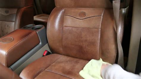 Car Upholstery For Sale by Cleaning Conditioning Leather King Ranch Seats