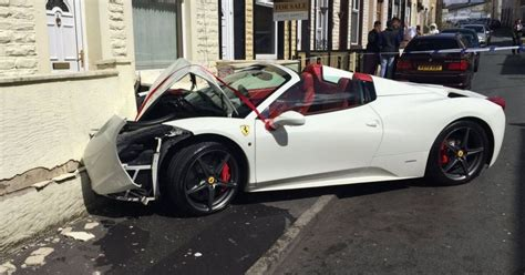 Lord Aleem On Wrecked Supercar