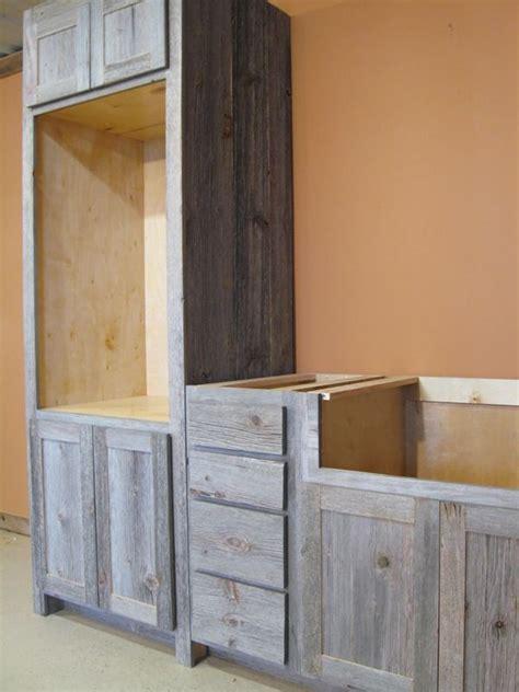 Weathered Gray Barn Wood Kitchen ? Barn Wood Furniture