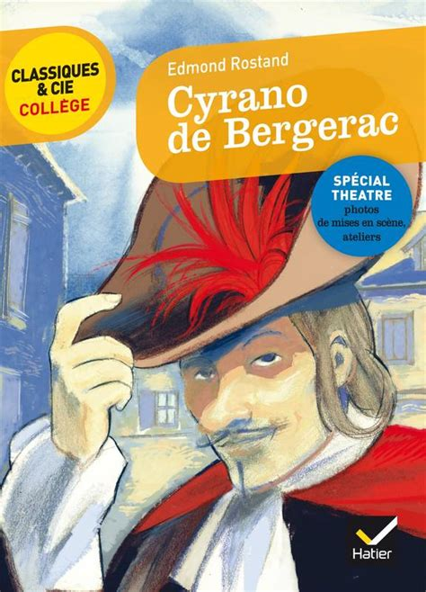 2401028218 cyrano de bergerac nouveau programme livre cyrano de bergerac nouveau programme edmond