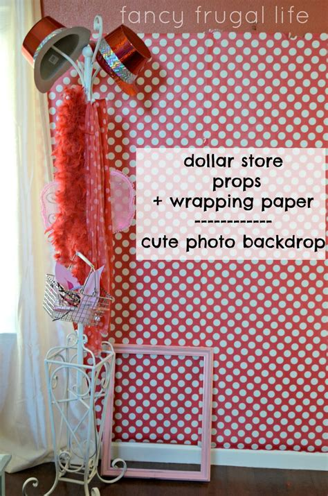 Diy Photo Backdrop With Wrapping Paper by Wrapping Paper Dollar Store Photo Props Photo