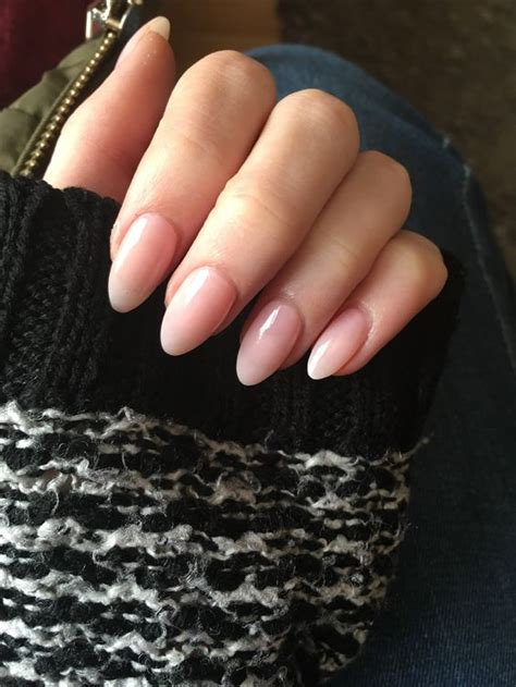 classy acrylic nails    natural  ilove