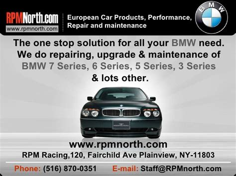 Bmw Repair, Performance Upgrade & Maintenance In Long Island