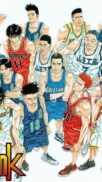 slam dunk anime wallpapers wallpapers cave desktop background