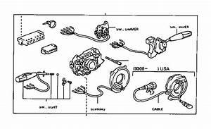 1994 Toyota T100 Combination Switch  Switch  Turn Signal