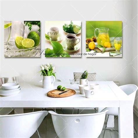cuadros  comedor  cocina decoracion arte moda