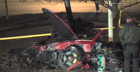 Paul Walker Dead Fast And The Furious Actor Dies In Car
