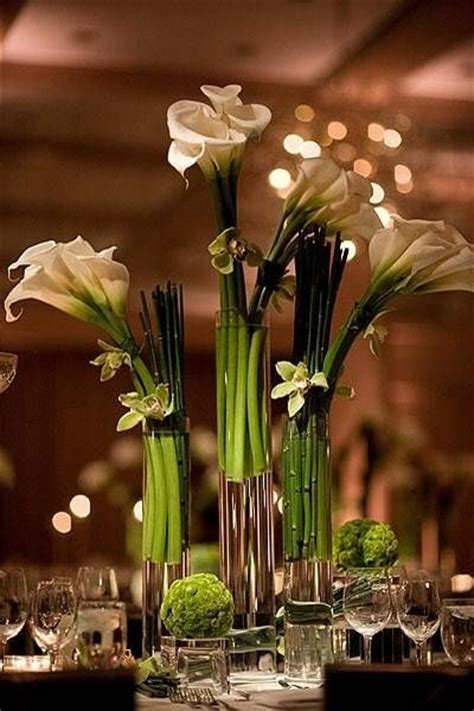 calla lily centerpiece wedding crap pinterest calla