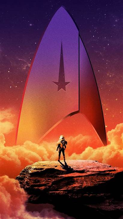 Trek Discovery Poster Posters Textless Words Phone