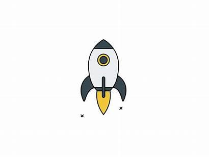 Rocket Animation Dribbble