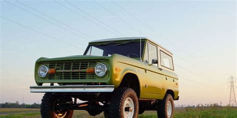 You Can Now Buy A Brand-new 50-year-old Bronco
