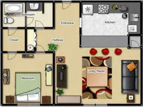 Of Images Bedroom Home Floor Plans by One Bedroom Apartment Floor Plan One Bedroom Apartment