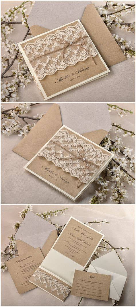 top  rustic wedding invitations  wow  guests