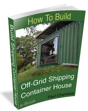 build  grid shipping container house part