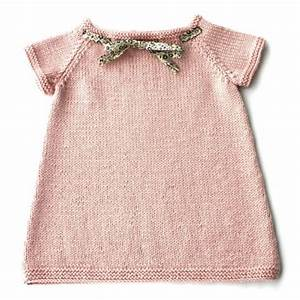 modele tricot robe naissance With robe naissance