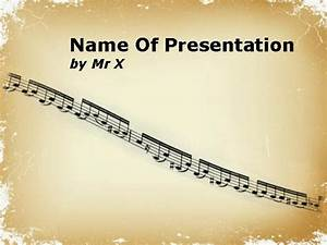 music notation sheet powerpoint template With music themed powerpoint templates