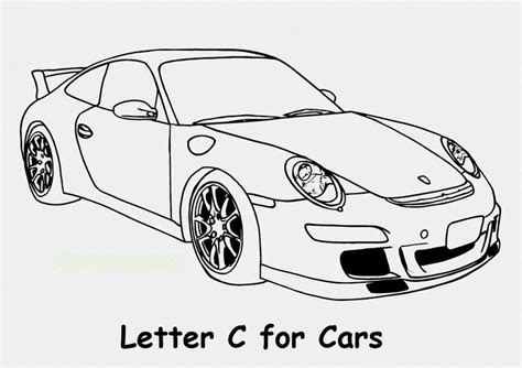 letter   car coloring page race car coloring pages