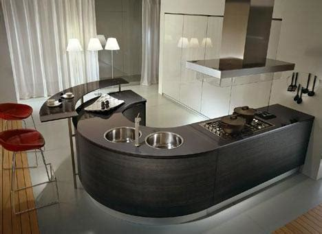 kitchen ls ideas round countertops in round kitchen designs by pedini italian kitchens kitchen design ideas at