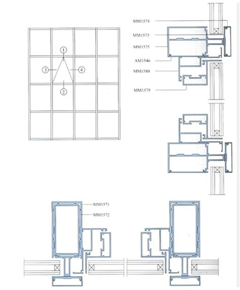 structural glazing curtain wall systems