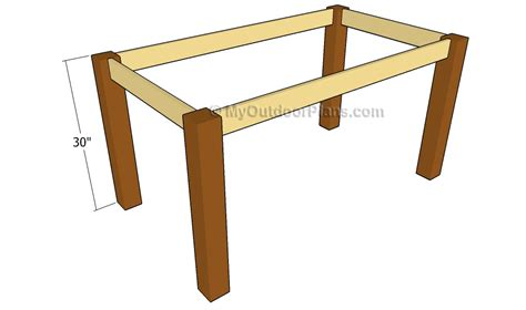 dining table construction plans outdoor dining table plans free outdoor plans diy shed