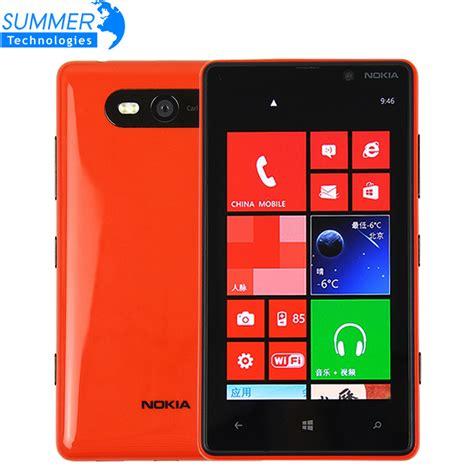 original unlocked nokia lumia 820 4 3 capacitive touchscreen windows phone 8 rom 8gb 8