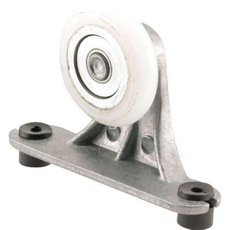 pocket door hardware rollers prime line pocket door top roller assembly 1 1 4 in