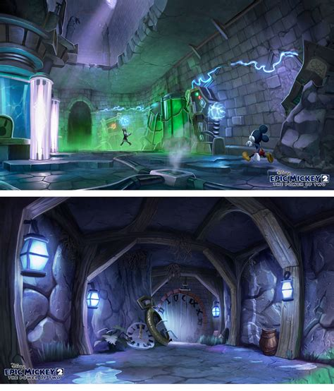 1000 Images About Epic Mickey On Pinterest