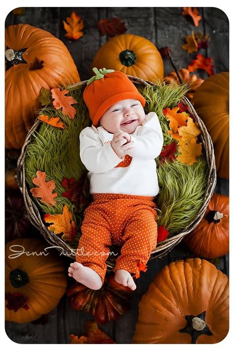 The 25+ Best Baby Pumpkin Pictures Ideas On Pinterest