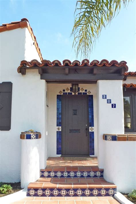 ole hanson historic home   mexican tile accents