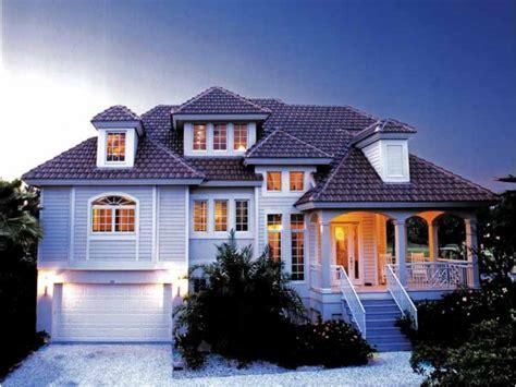 Mediterranean Modern Style Home Plans  Dhsw17044 House