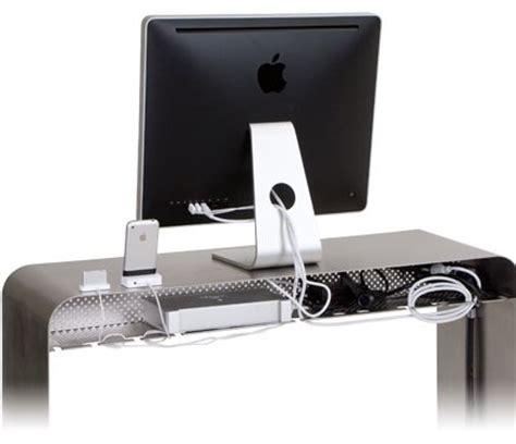 bureau pour imac un bureau en alu pour votre mac macgeneration